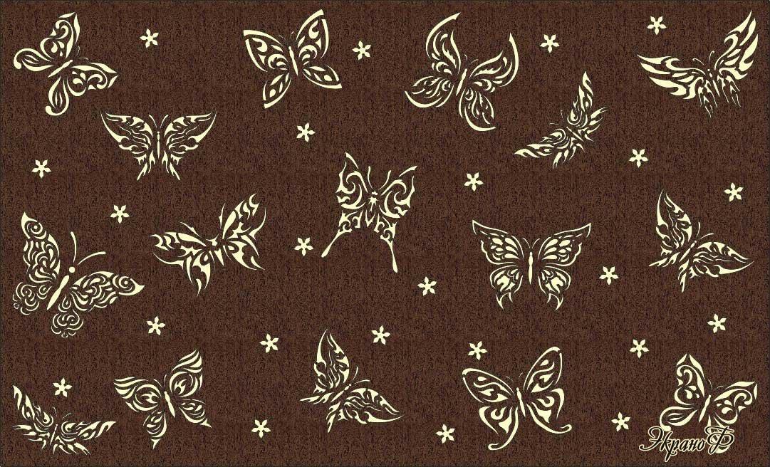 Макет экрана Бабочки 4