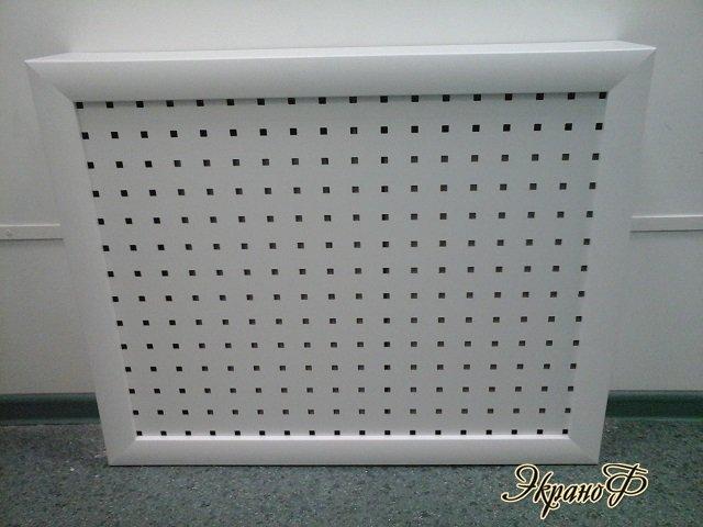Экран для батареи отопления из бумаги